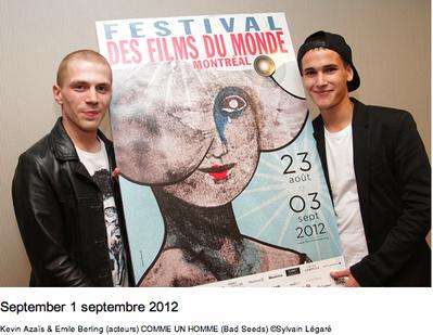 Festival des films du monde de Montréal - 2012 - © Sylvain Légaré