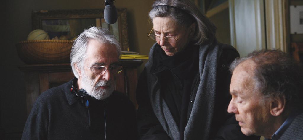Amour nominada 5 veces para los Oscar