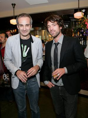 Unifrance fait sa rentrée - Olivier Assayas et Romain Duris (Toronto) - © Unifrance