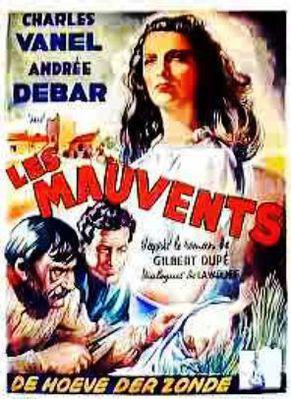 Tempête sur les Mauvents - Poster - Belgique