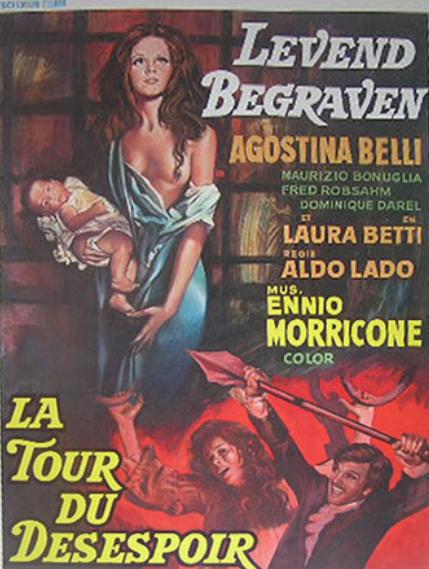 La Sepultada viva - Poster - Belgique