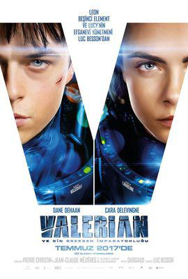 Valerian y la Ciudad de los Mil Planetas - Poster - Turkey