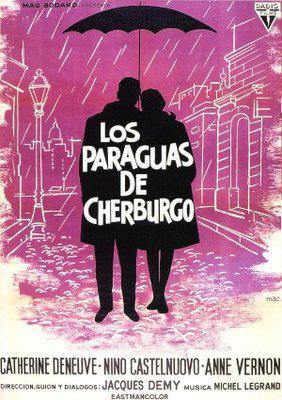 Los Paraguas de Cherburgo - Affiche Espagne