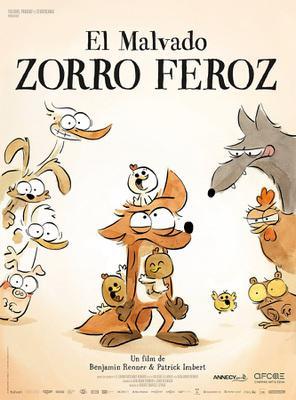 El Malvado zorro feroz - Poster - Spain
