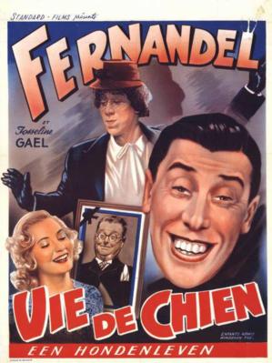 Une vie de chien - Poster Belgique