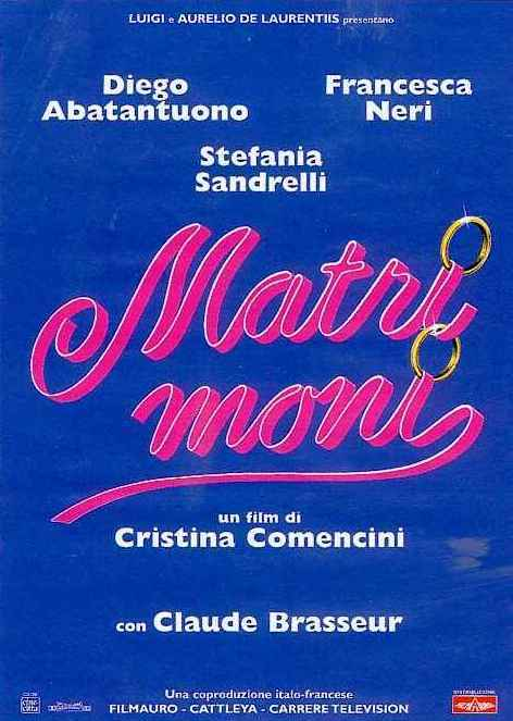 Marriages - Poster - Italie