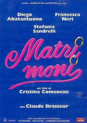 Matrimonio - Poster - Italie