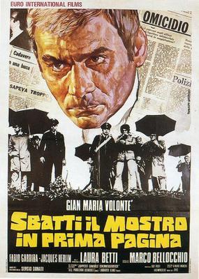 Viol en première page - Poster - Italie