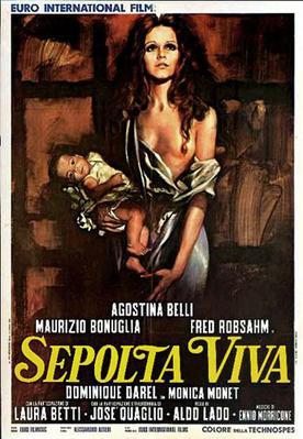 Woman Buried Alive - Poster - Italie