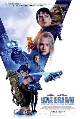 Valerian and the City of a Thousand Planets - Poster - Germany
