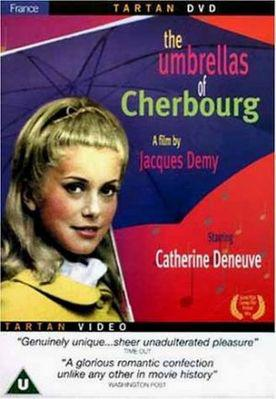 Les Parapluies de Cherbourg - Affiche UK