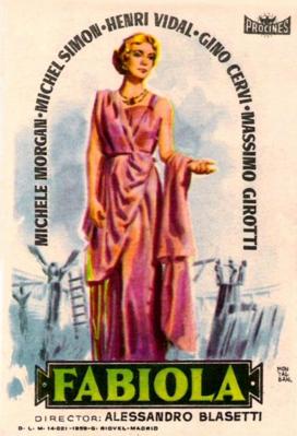 Fabiola - Poster - Spain