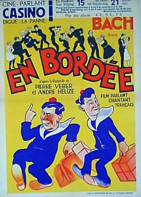 En bordée - Poster - Belgium
