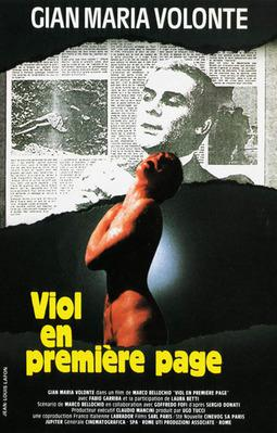 Viol en première page - Jaquette DVD - France