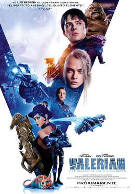 Valerian and the City of a Thousand Planets - Poster - Mexico