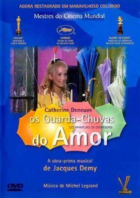 Los Paraguas de Cherburgo - Affiche Portugal