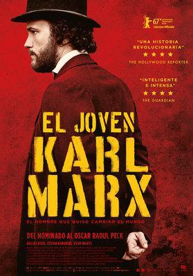 El joven Karl Marx - Poster - Colombia