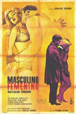Masculino, femenino - Poster Mexique