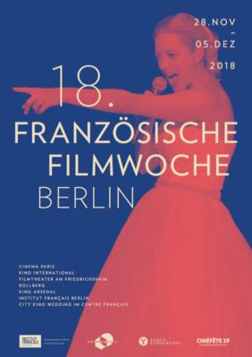 Semaine du film français de Berlin - 2018