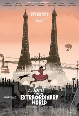 April and the Extraordinary World - Poster - USA