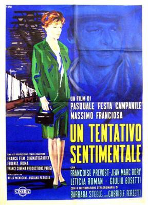 Un tentativo sentimentale - Poster - Italie