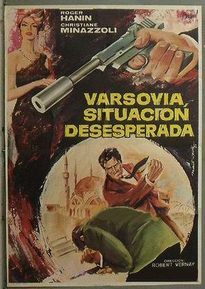 Passeport diplomatique Agent K8 - Poster Espagne