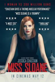 Miss Sloane - Poster - Royaume-Uni