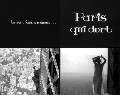 Paris qui dort