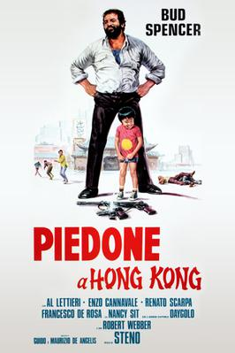 Piedone a Hong Kong - Poster Italie