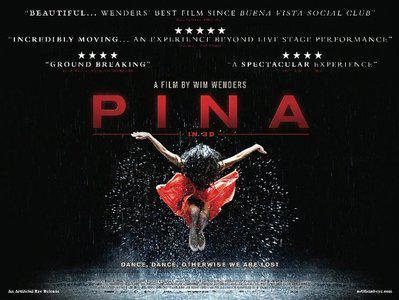 Pina (3D) - Poster - UK