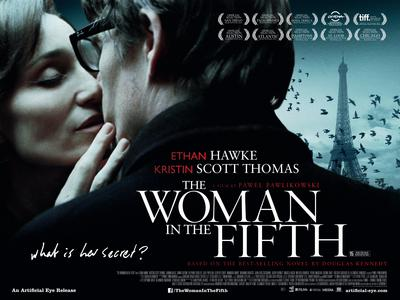 The Woman in the Fifth - Poster - Royaume-Uni