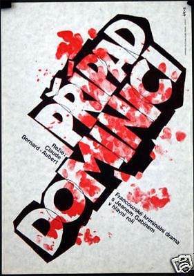 El Affaire Dominici - Poster Pologne