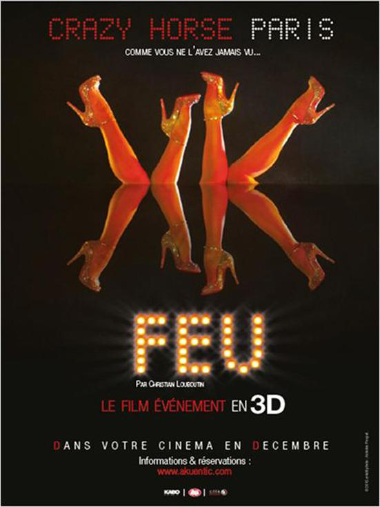 Feu-Crazy Horse Paris