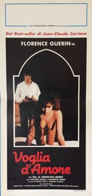 La Jeune Fille et l'enfer - Poster Italie