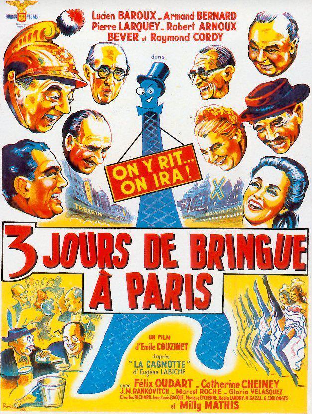 Trois jours de bringue à Paris