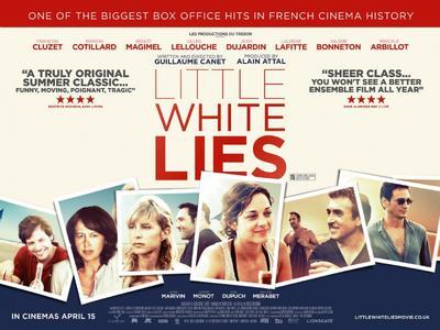Pequeñas mentiras sin importancia - Poster - UK