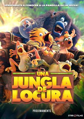 The Jungle Bunch - La Panda de la selva - Poster - Peru