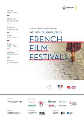Festival de Cine Francés de la Alianza Francesa (Australia) - 2017