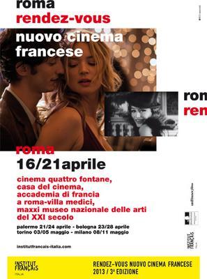 Rendez-vous avec le nouveau Cinéma français à Rome - 2013