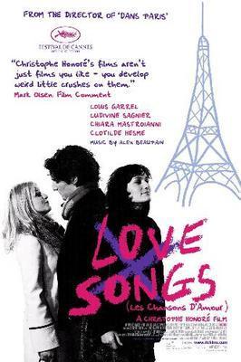 Les Chansons d'amour - Poster - USA