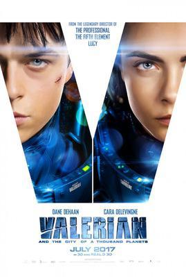 Valérian et la Cité des mille planètes - Poster - US