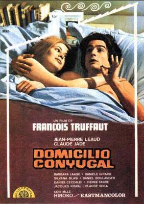 Domicile conjugal - Poster Espagne