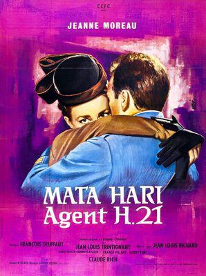 Mata Hari, Agent H21 - Poster France