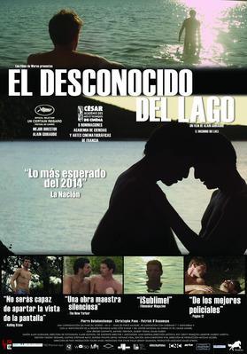 El Desconocido del lago - Poster - Argentina