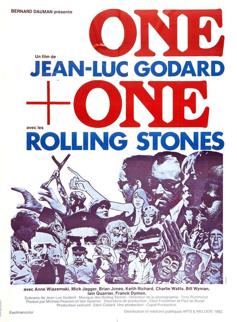 Bill Wyman - Poster France