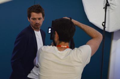Portfolio Festival de Cannes 2018 - Pierre Deladonchamps pour 'Aimer, plaire et courir vite' - © Veeren/BestImage/UniFrance