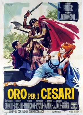 Gold for the Caesars - Poster - Italy