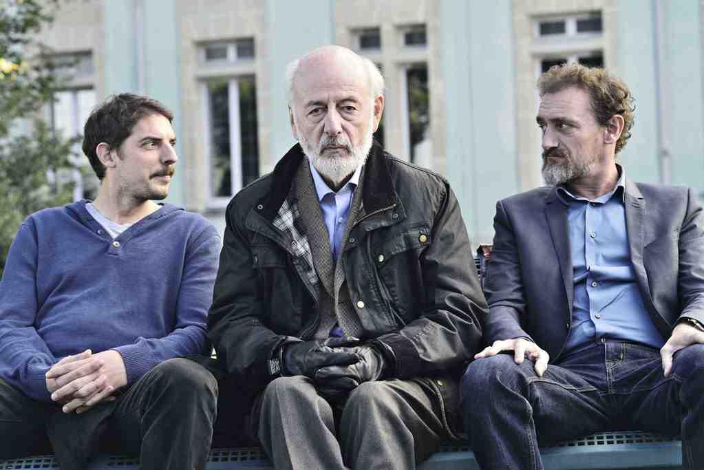 Papa, Alexandre, Maxime & Eduardo - © Vivian Duval