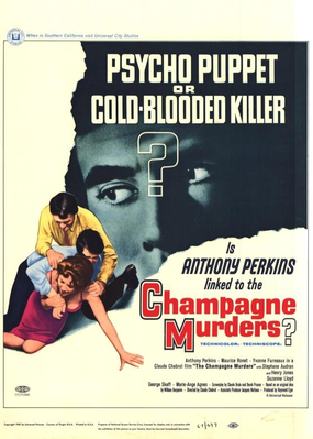 The Champagne Murders - Poster Etats-Unis