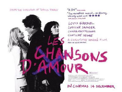 Chansons d'amour - Poster - UK